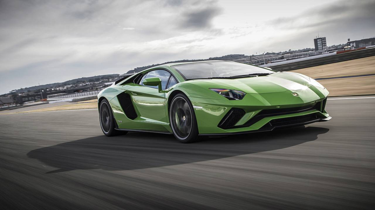 9. Lamborghini