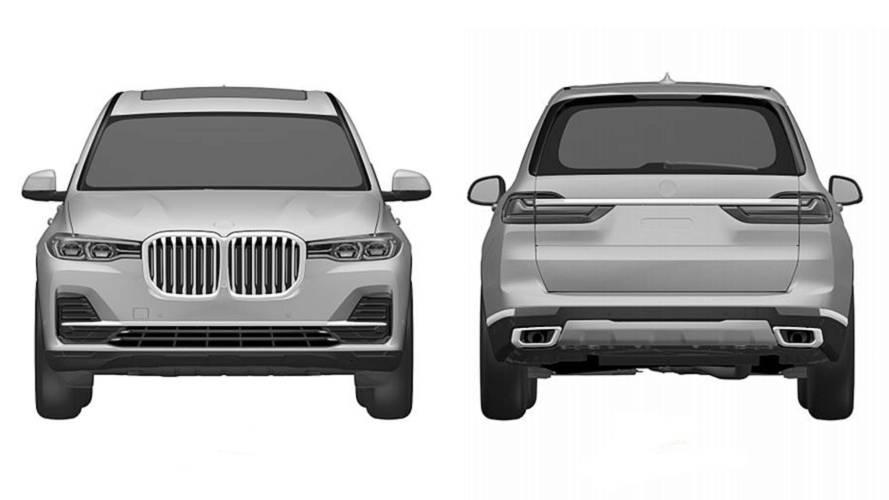 Le BMW X7 prend la fuite sur internet !