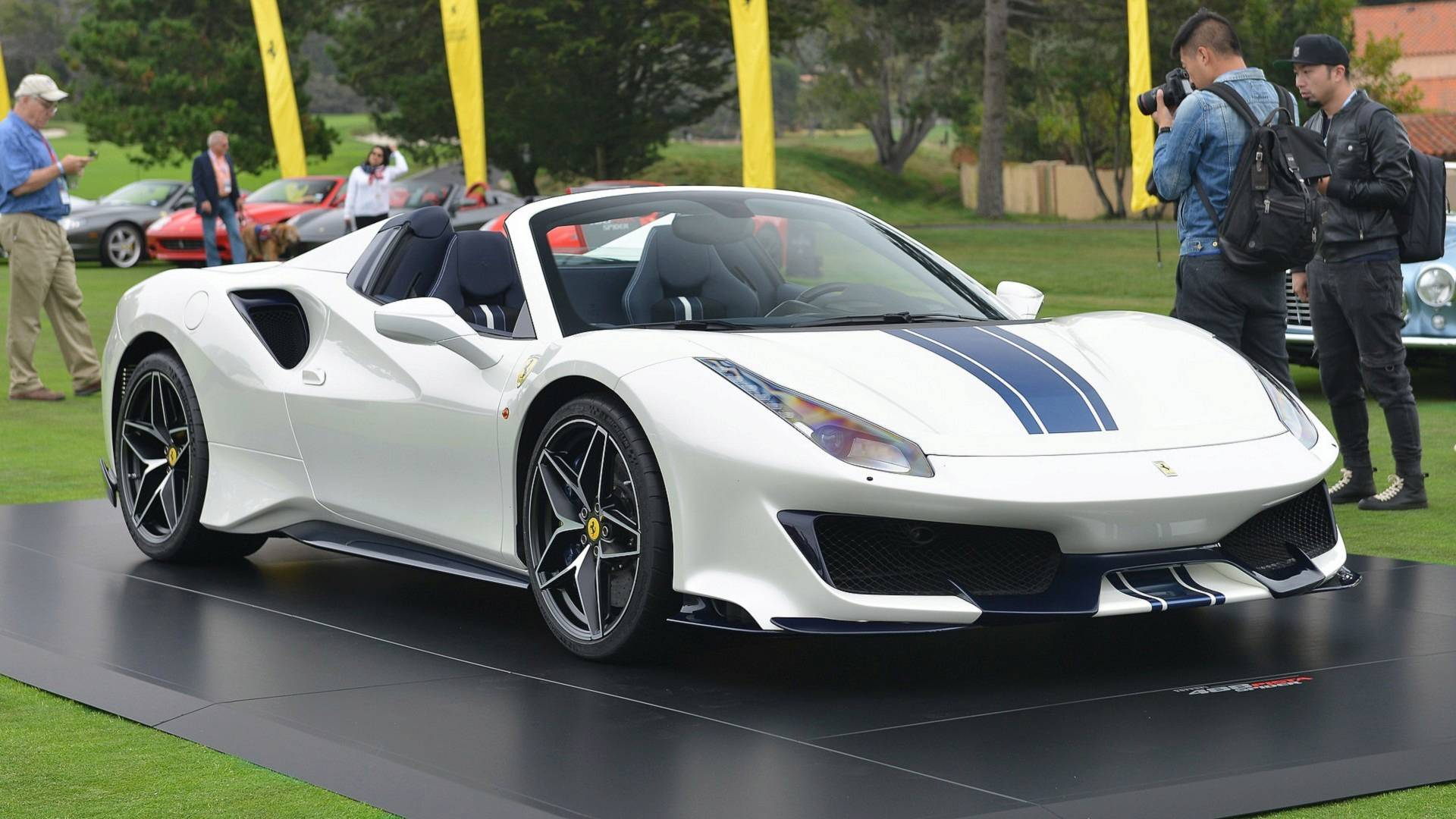 Ferrari 488 Pista Spider Unveiled As Company S 50th Droptop Model