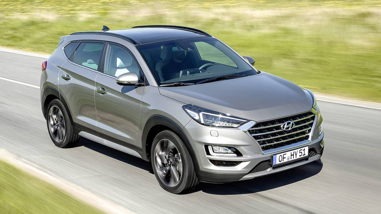 Hyundai Tucson 1.6 T-GDI (2018) Test