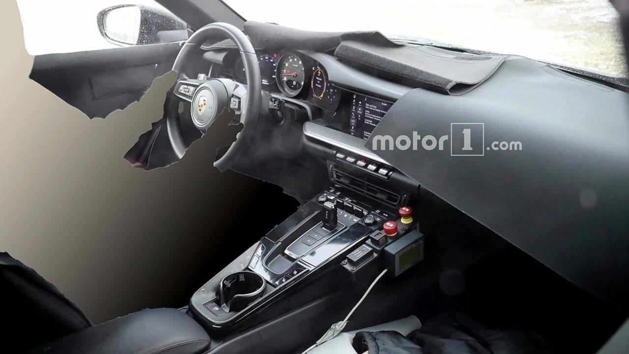 Porsche 911 2019: así será el interior