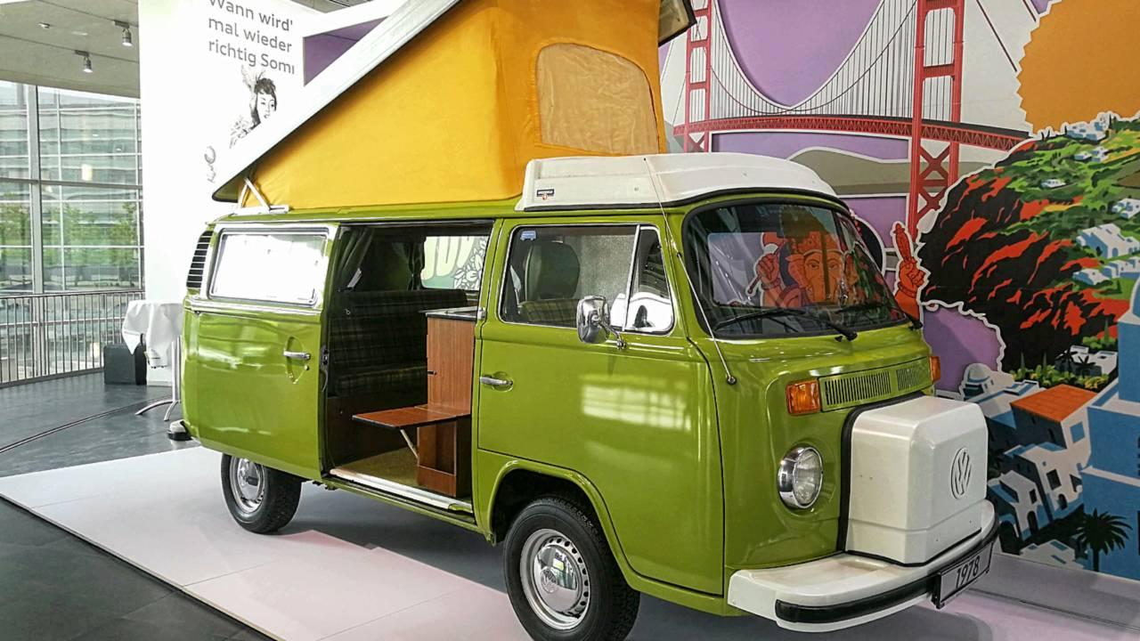 Vom Kult-Bus zum Hippie-Mobil