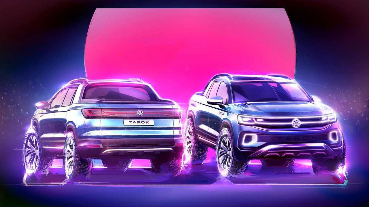 Volkswagen рассматривает три варианта пикапа для США