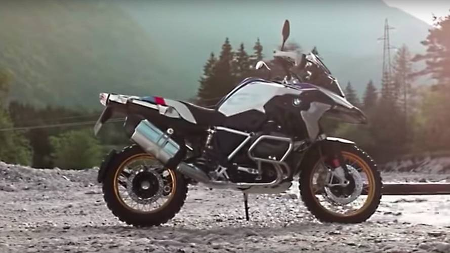 Leaked Video Shows New BMW R 1250 GS with Shiftcam Tech