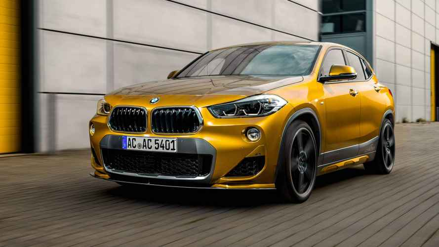 BMW X2 by AC Schnitzer Looks Sharp and Snazzy