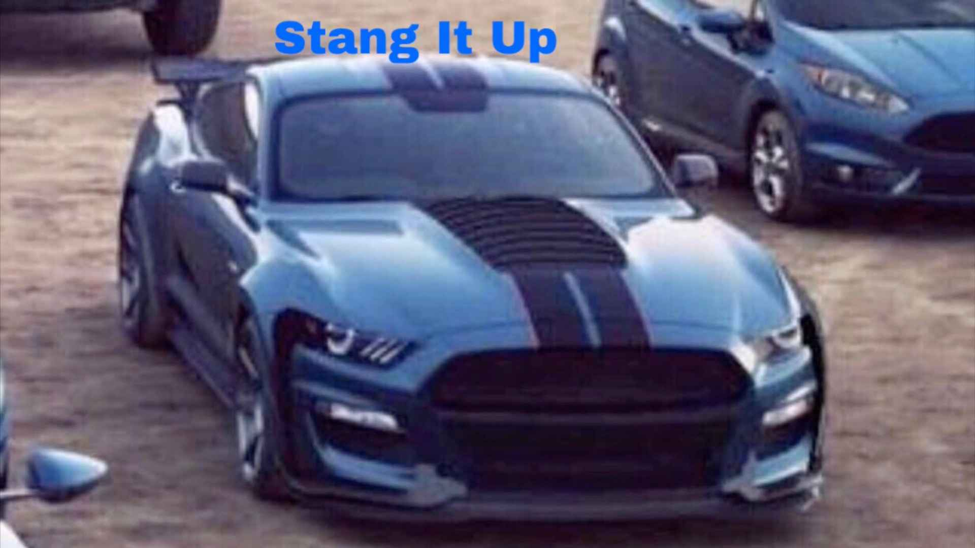 Is this the 2020 ford mustang shelby gt500r update its not
