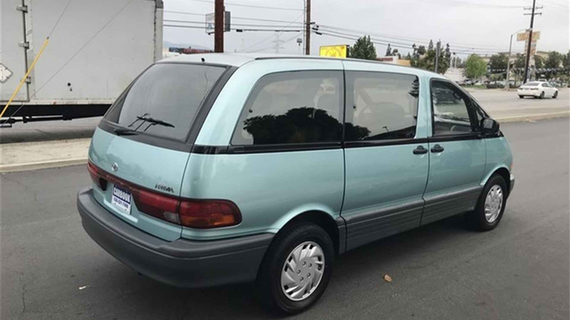 Someone Needs To Buy This Supercharged Toyota Previa For Under 5k