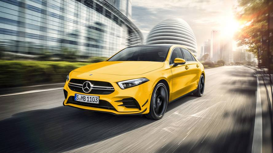 Mercedes-AMG A35 Saloon render could pass for the real thing