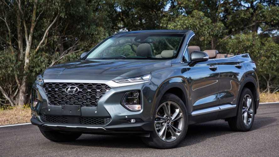 Hyundai hat ein Santa Fe Cabrio zusammengebastelt