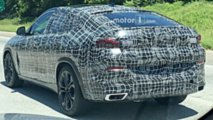 2020 BMW X6 spy photo