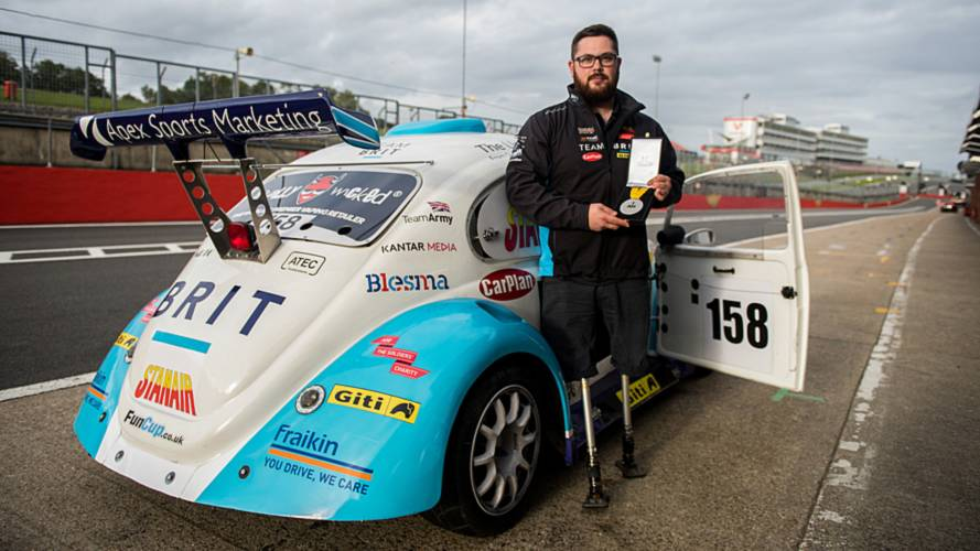 Amputee racer sets his sights on Le Mans