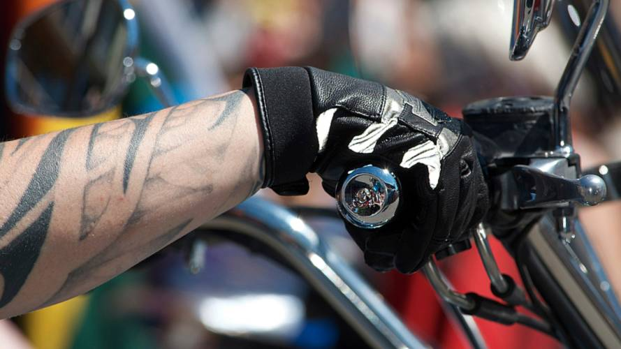 Helmet Wearing Thief Betrayed by Tattoo