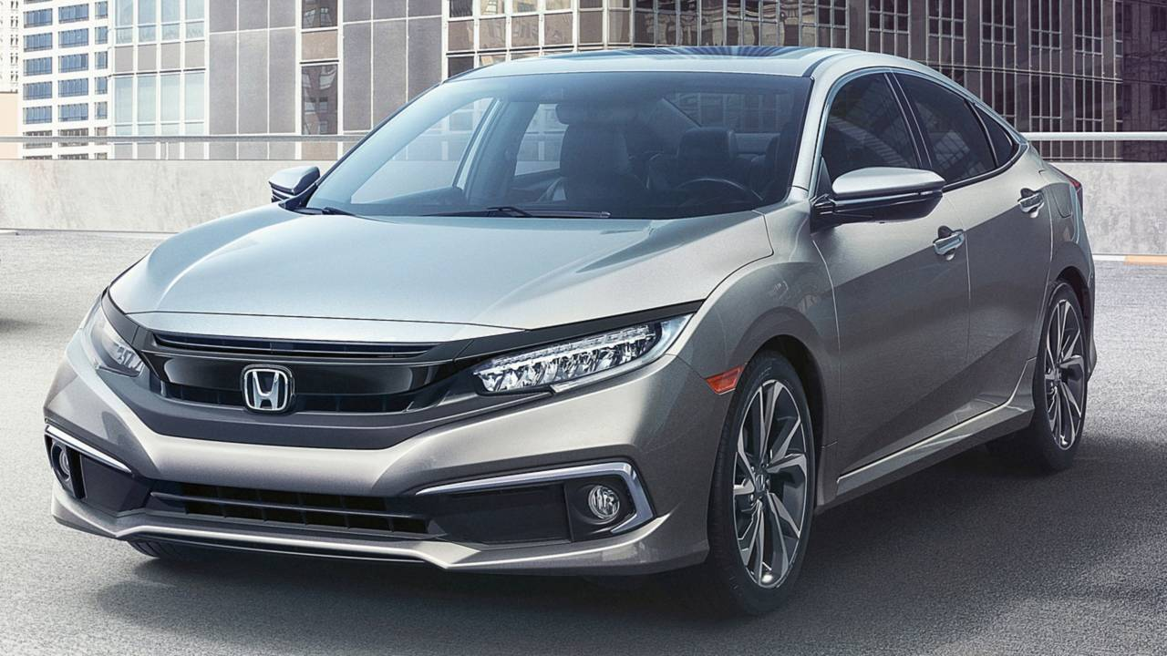 8. Honda Civic: 277,486 units