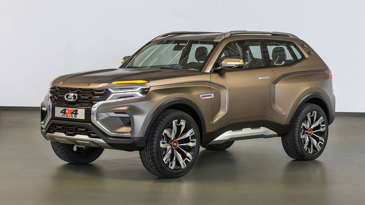 4 X 4 >> Lada Previews Next Gen Niva Offroader With New 4x4 Vision Concept