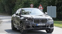 2020 BMW X6 new spy photo