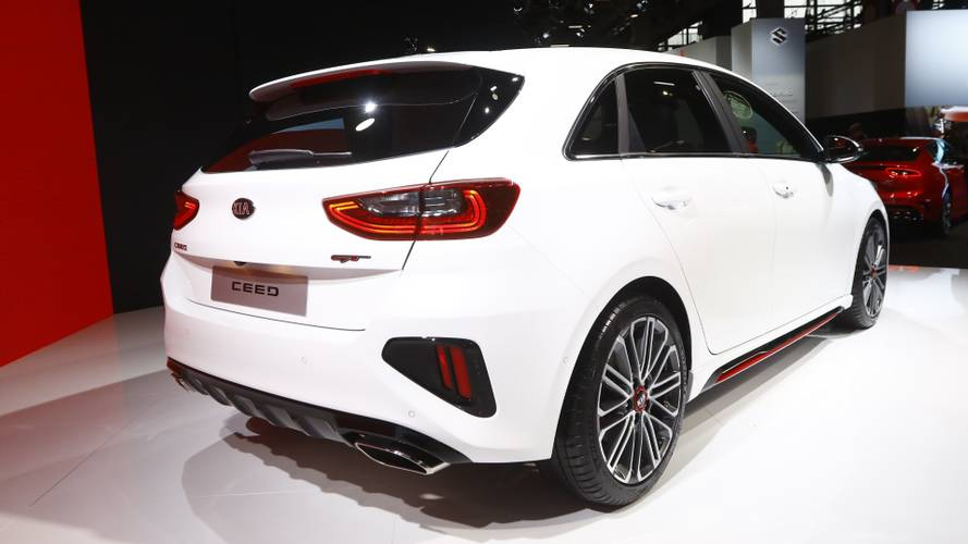 Kia Ceed GT at the Paris Motor Show