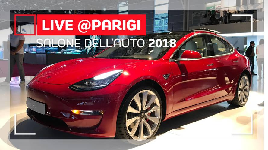 Tesla Model 3, a Parigi la full electric