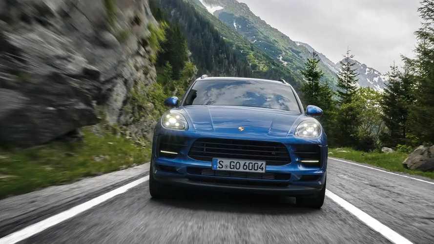 2019 Porsche Macan 2.0 turbo motoruyla Paris'te