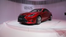 2019 Lexus RC at the Paris Motor Show
