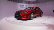 Lexus RC en el salón de París 2018