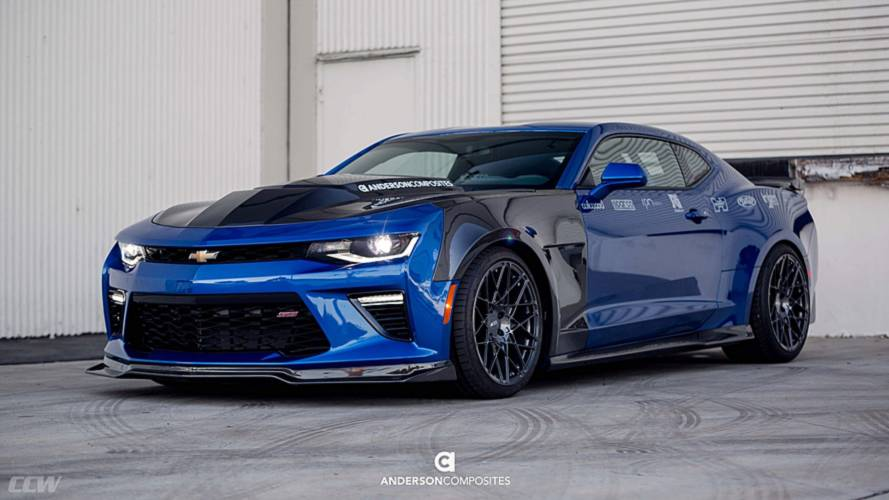 Chevy Camaro SS Gets Carbon Fiber Makeover From Tuner