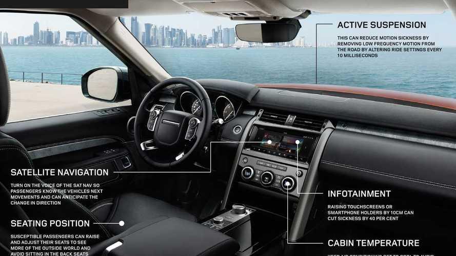 Mal d'auto addio, con un algoritmo Jaguar Land Rover