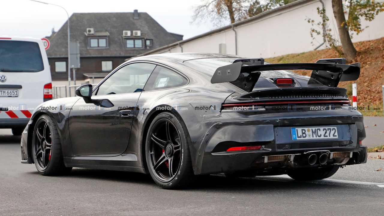 2020 foto spia Porsche 911 GT3