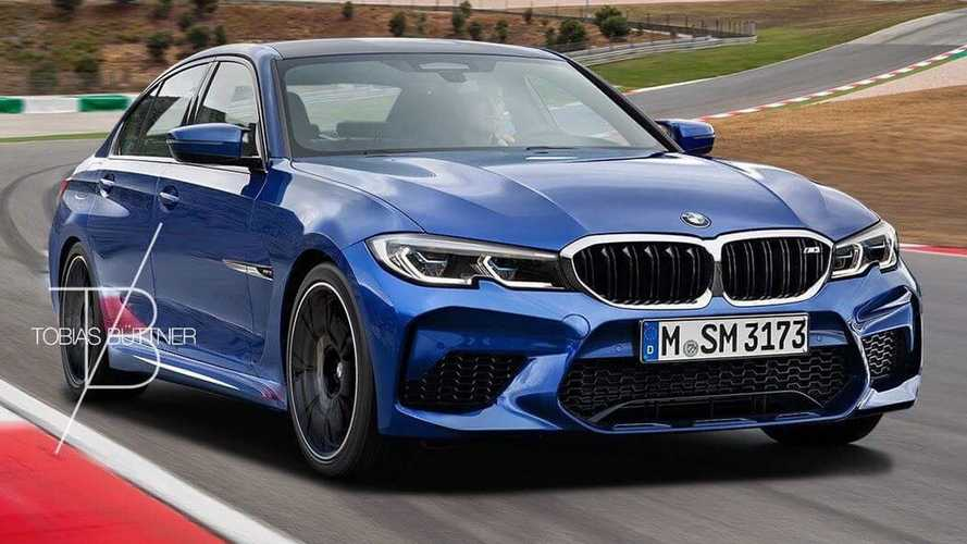 BMW M3 Touring, Sedan renders