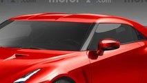 Nuova Nissan GT-R render