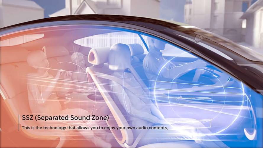 Hyundai's separate sound zone tech makes headphones useless