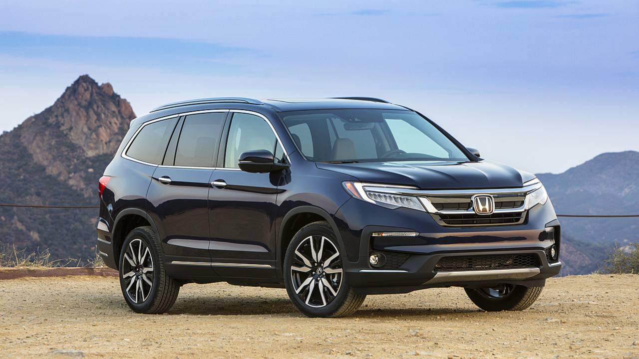 2019 honda pilot first drive respectfully refined for Honda pilot images