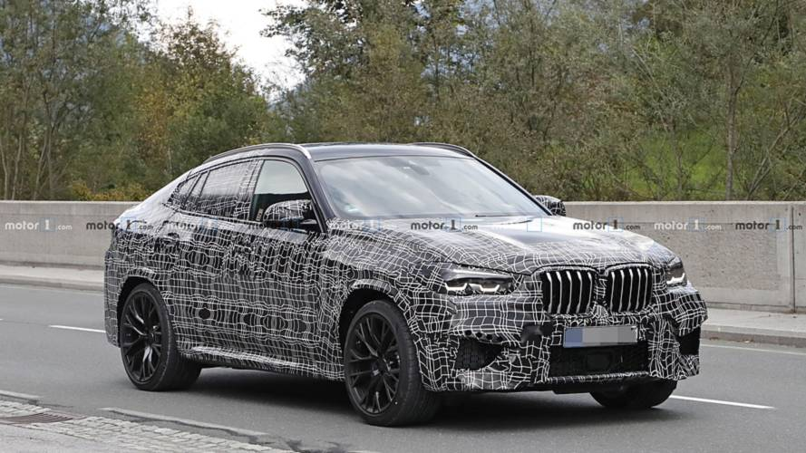 2020 BMW X6 M spy photo