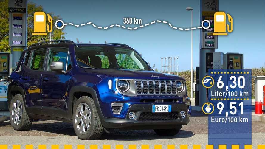 Tatsächlicher Verbrauch: Jeep Renegade 1.0 T-GDI im Test