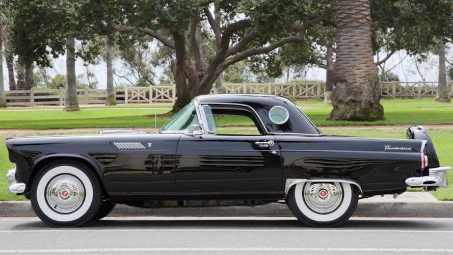 Bid for Marilyn Monroe's Ford Thunderbird before somebody else does