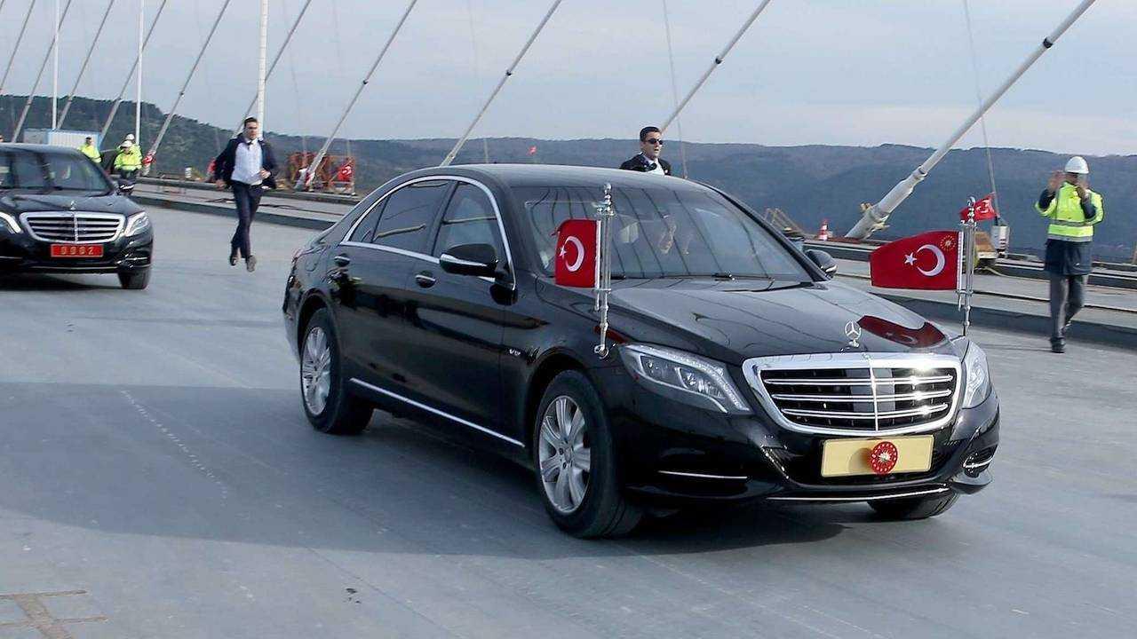Recep Tayyip Erdogan (Türkei): Mercedes S 600