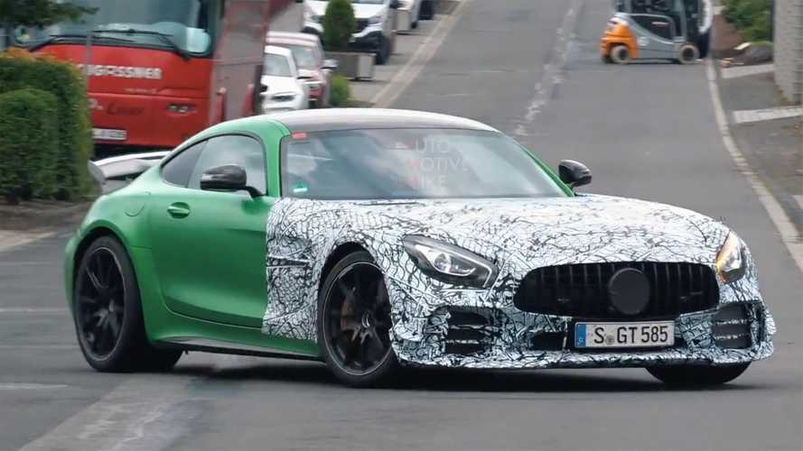 Mercedes-AMG GT Spied Testing In Multiple Guises On Video