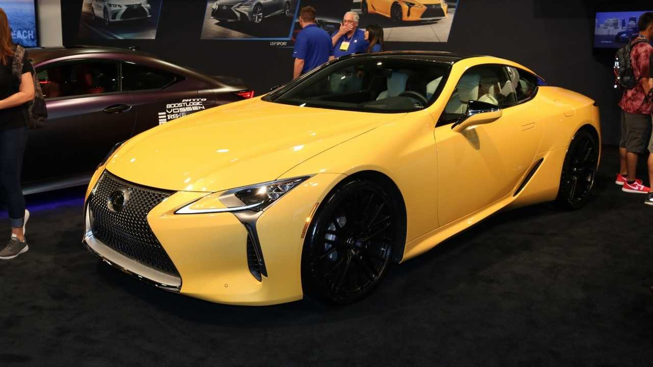 Lexus Teases Sporty Takes Of Ls And Rc For Sema Plus A Boozy Es