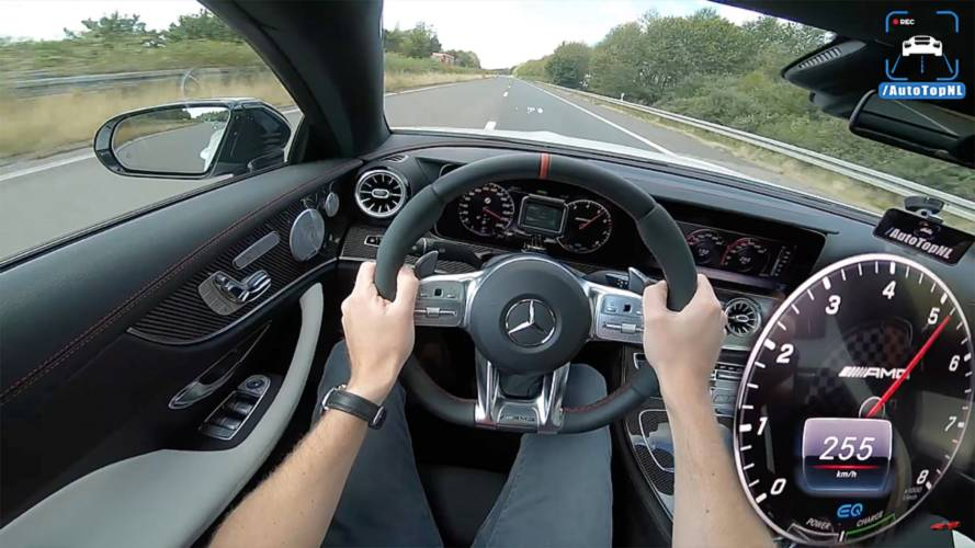 Mercedes-AMG E53 Coupe Puts Mild Hybrid To Work In Top Speed Run