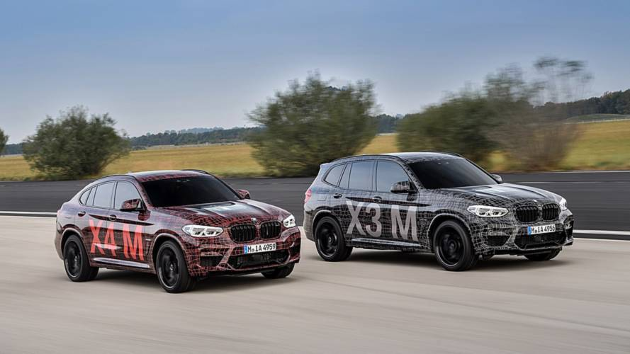BMW X3 M, X4 M could exceed 500 bhp thanks to competition package