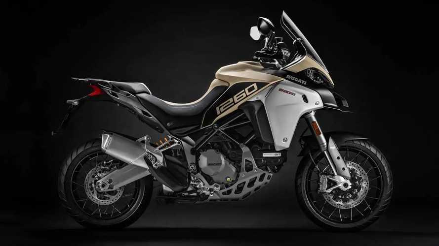 Ducati Multistrada 1260 Enduro'yu resmiyete kavuşturdu