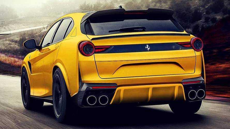 Az eddigi legjobb elképzelés a Ferrari SUV-járól?