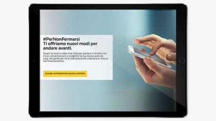 Coronavirus, anche le concessionarie Renault e Dacia diventano virtuali