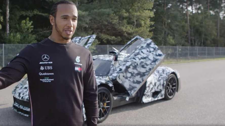Lewis Hamilton, probador de lujo del Mercedes-AMG ONE