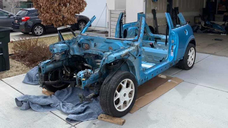 Mini Cooper S sim rig