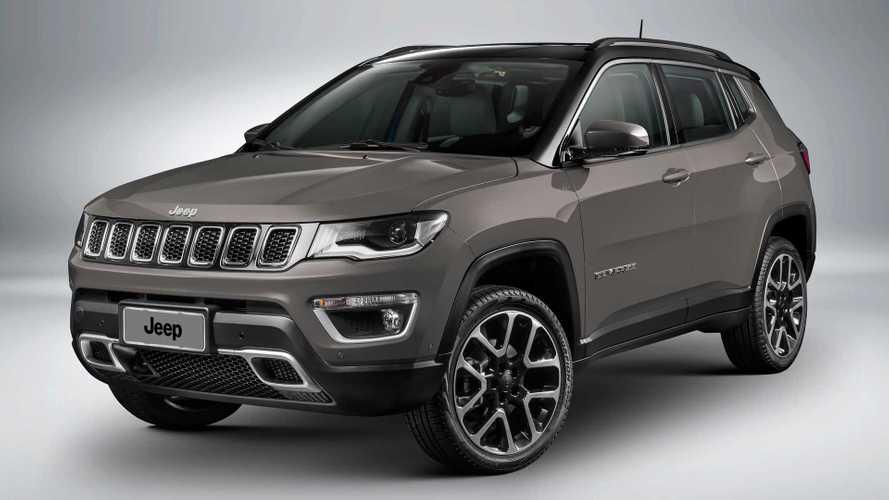 Jeep Compass e Renegade ficam até R$ 6 mil mais caros; veja preços