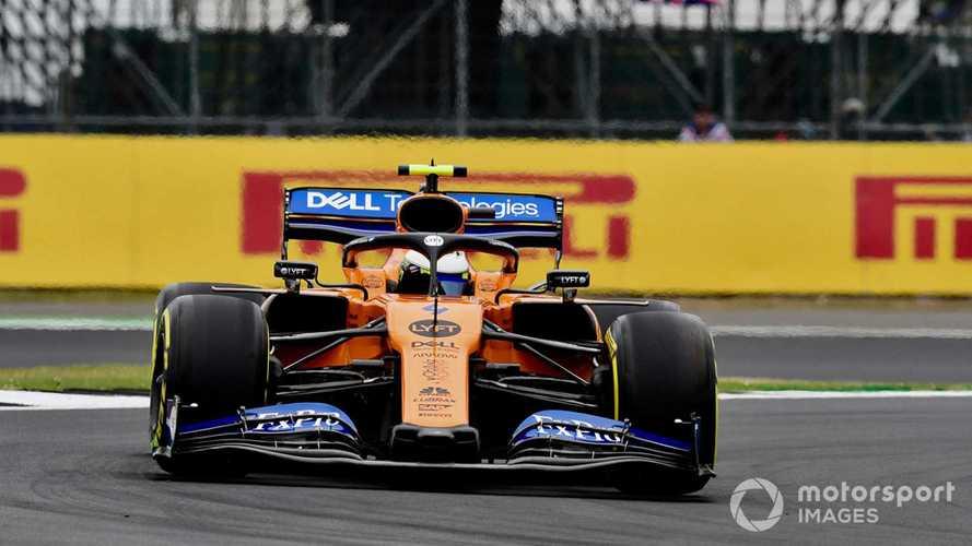 Lando Norris at British GP 2019