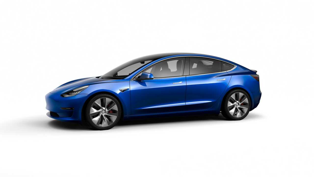 Tesla Model 3 (design studio China)