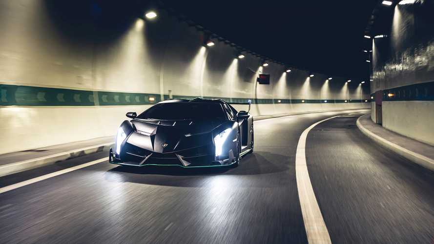 Lamborghini Veneno Roadster in vendita all'asta
