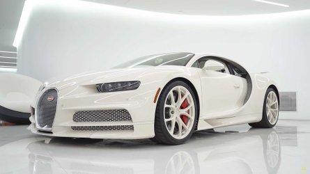 Bugatti Chiron Hermes, tutti gli extra dell'esemplare unico