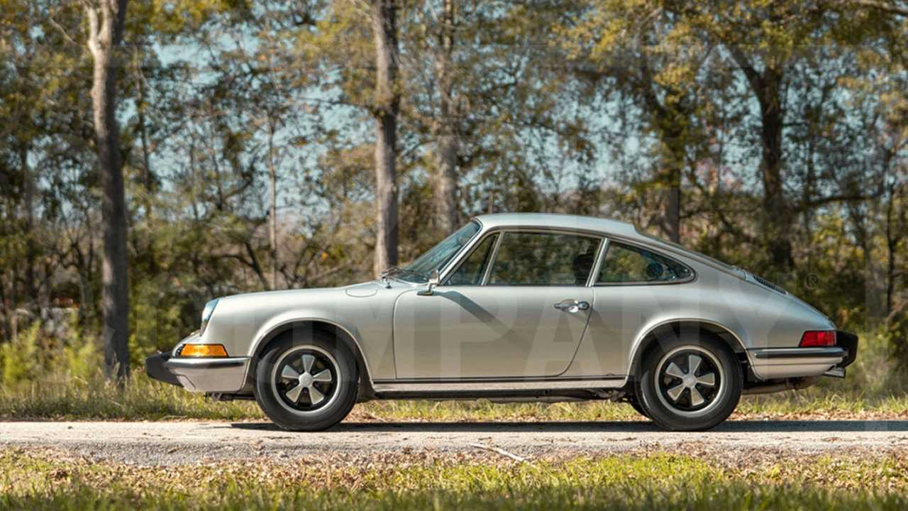 Bid On This Stunning 1973 Porsche 911 2.4T Time Capsule